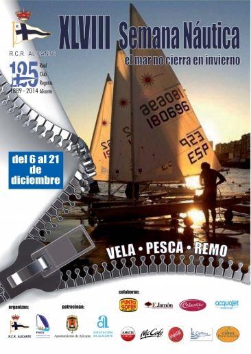 El Mar no cierra en invierno: ¡Todo a punto para la Semana Náutica en el RCR Alicante