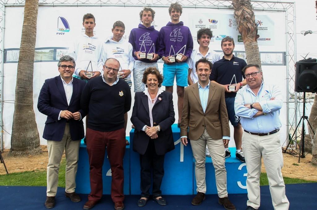 La Alcaldesa corona a los vencedores del 55º Gran Trofeo Valencia
