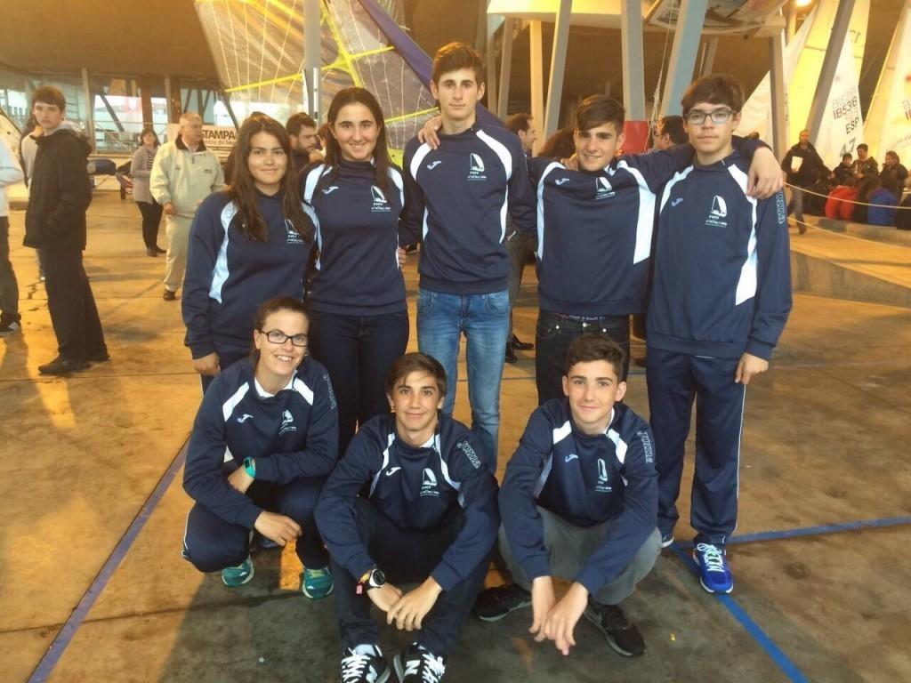 La Vela de la Comunitat Valenciana entre los primeros puestos de Campeonatos Nacionales.