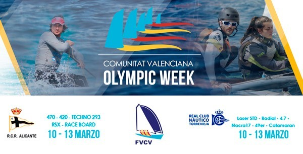 """Se acerca la Regata de Clases Olímpicas """"Comunitat Valenciana Olympic Week"""" en Alicante y Torrevieja"""