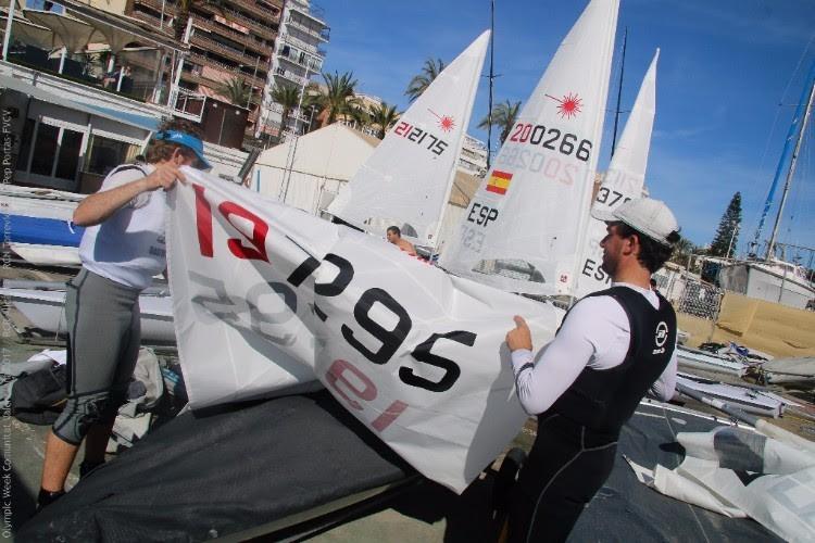 Los Laser Standard y 470 levantan el telón de la Olympic Week de la Comunitat Valenciana