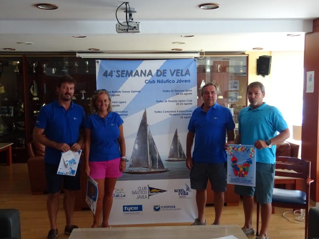El CN Jávea celebra la 44ª Semana de la Vela con cuatro competiciones deportivas en la bahía de Xàbia