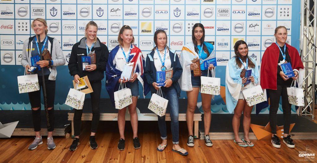 Lara Himmes, séptima en el Mundial de Laser 4.7 en Polonia