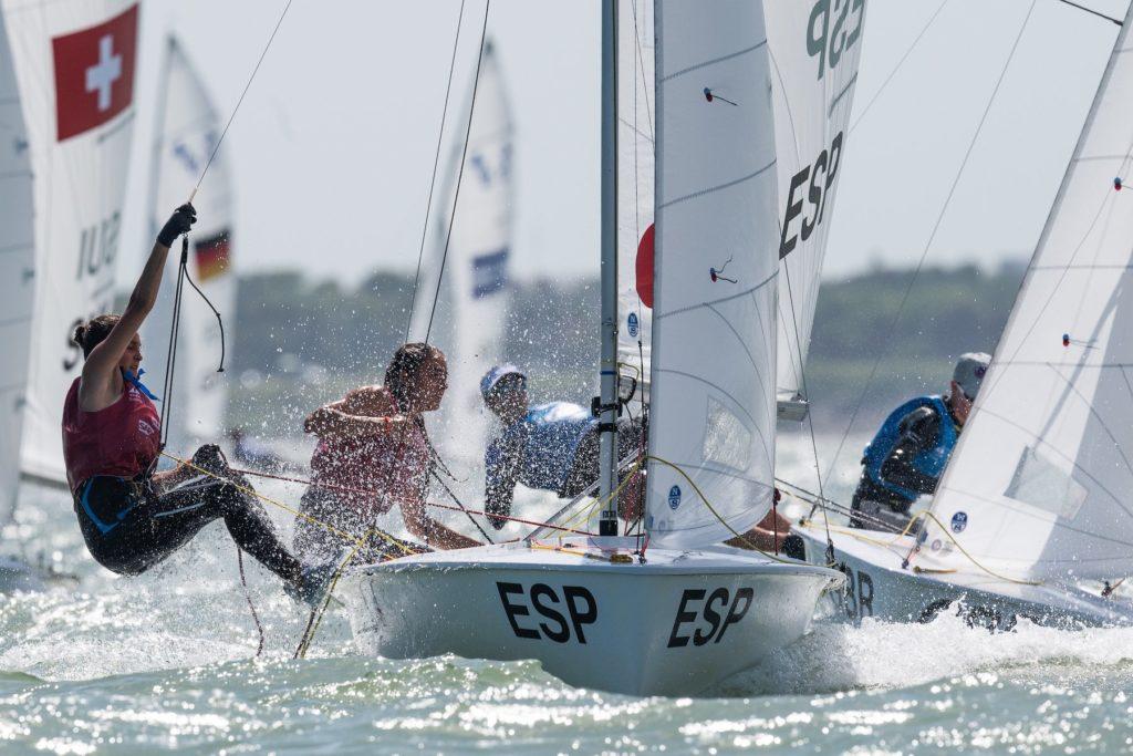 Julia Miñana y Silvia Sebastiá, cuartas en la Youth Sailing World Championship 420 de EEUU