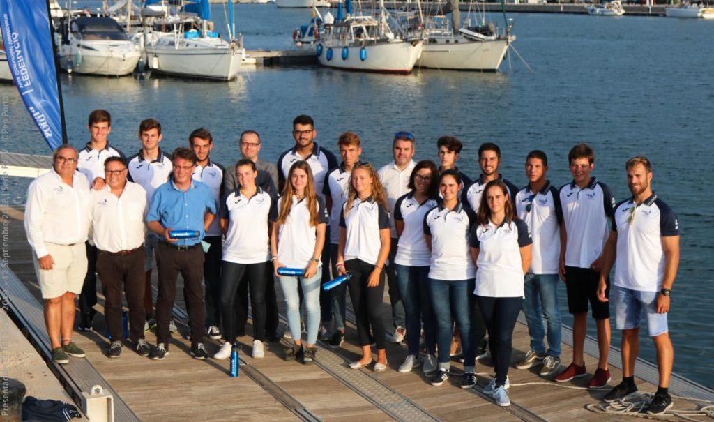 La FVCV presenta a sus mejores regatistas de clases olímpicas para el equipo de alto rendimiento