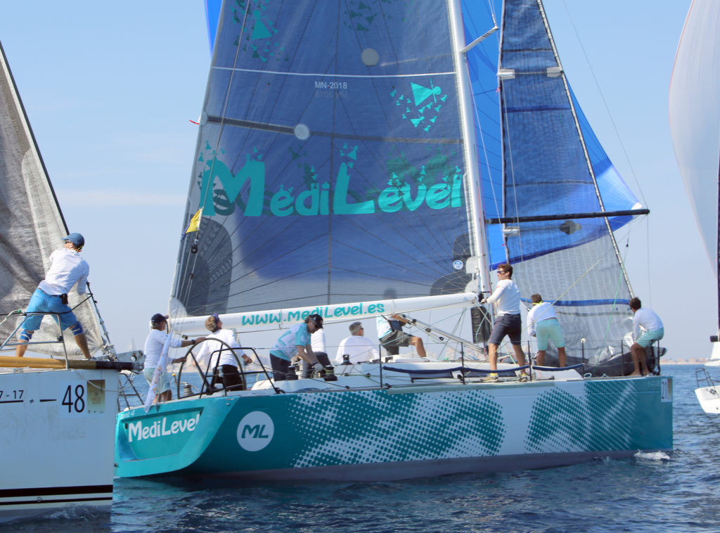 Éxito de la Vela de Crucero de la Comunitat Valenciana en la Regata Camino de la Cruz, III Trofeo Punta Este