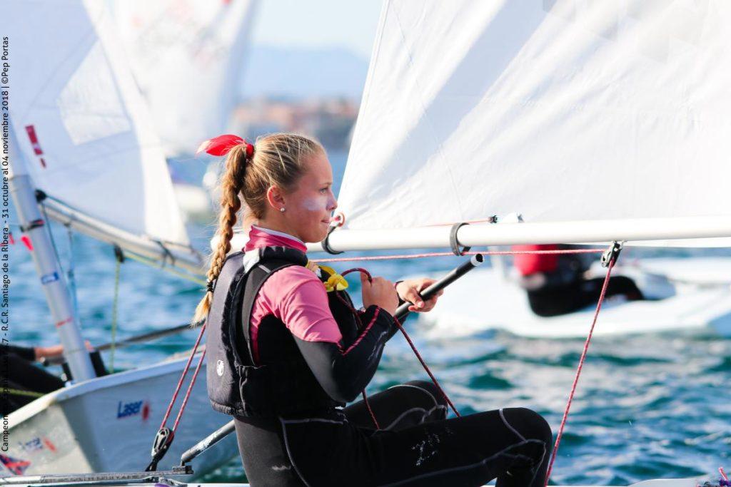 Lara Sabine Himmes, nueva campeona de España Laser 4.7