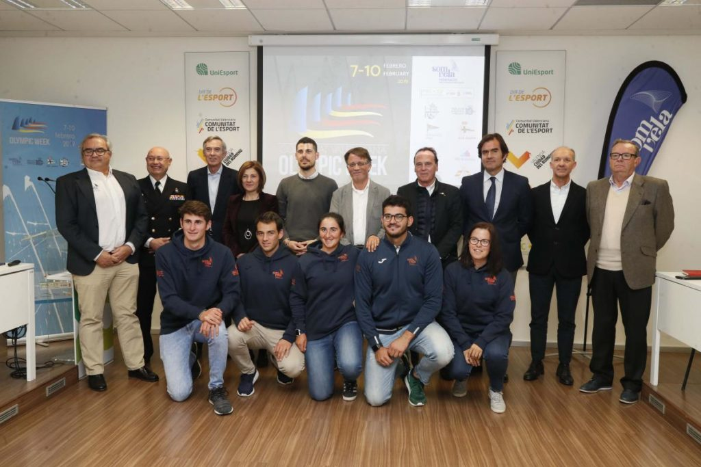 La Fundación Trinidad Alfonso acoge la presentación de la Comunitat Valenciana Olympic Week 2019