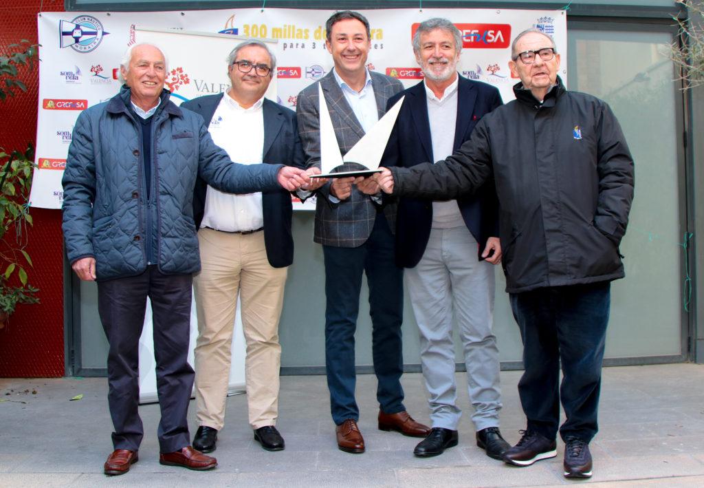 Valencia acoge la presentación oficial de las 300 Millas A3 Moraira, Trofeo Grefusa