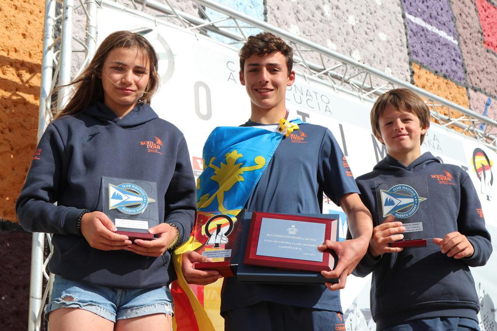 Antonio López, nuevo campeón de la Copa de España de Optimist