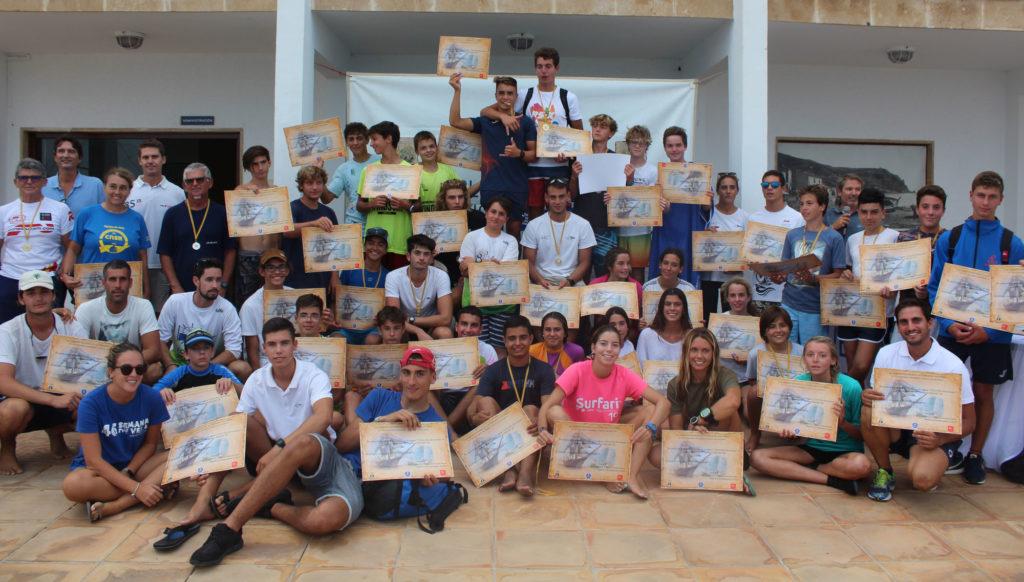 Gran éxito de participación en el II trofeo Autonómico de Windsurf en el Club Náutico de Jávea