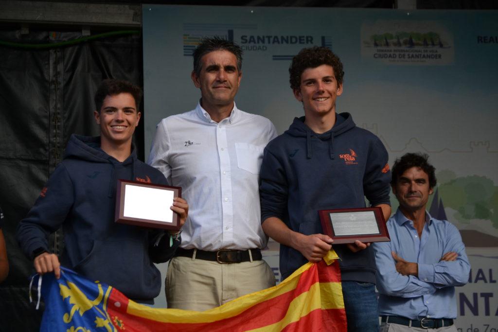 'Quicorras' Urios y Binetti, campeones de la Copa de España 29er