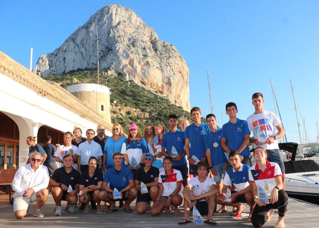 El Trofeo RCN Calpe de Vela Ligera 2019 ya tiene a sus nuevos campeones