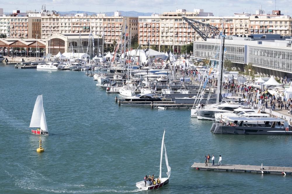 La Federación de Vela de la Comunitat Valenciana se une al Valencia Boat Show
