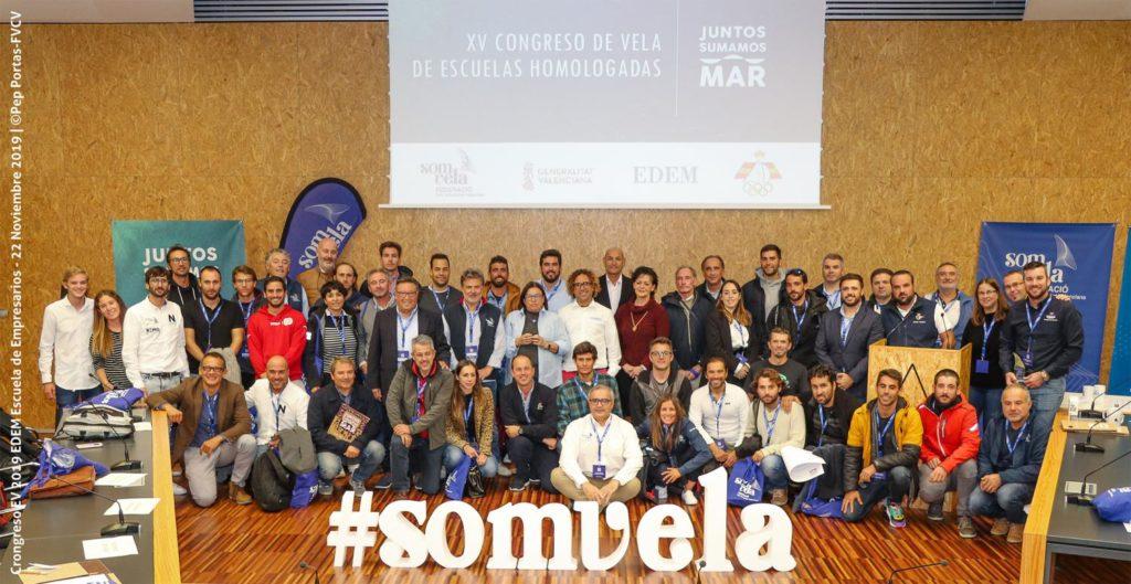 """La campaña """"Juntos Sumamos Mar"""", tema central del Congreso de Escuelas Homologadas de Vela de la FVCV"""