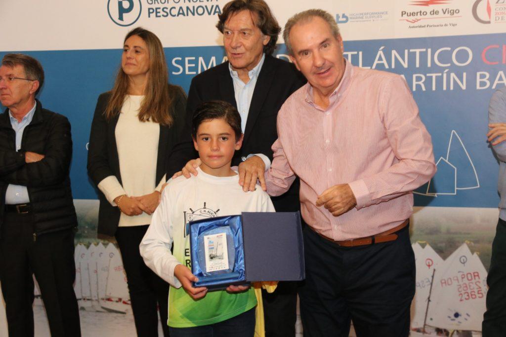 El alicantino José Eugenio Ribelles, segundo en SUB13 en la primera cita de la Optimist Excellence Cup en Vigo