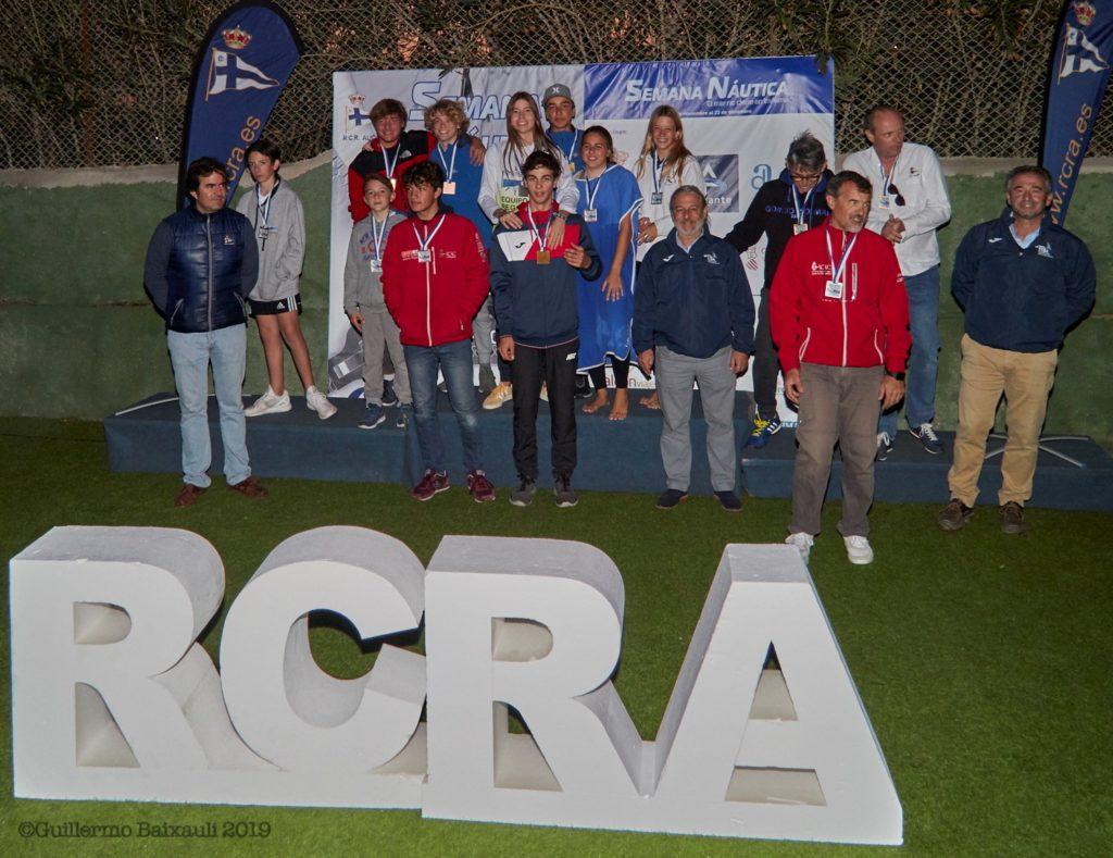 El RCRA clausura la primera entrega de su regata más veterana