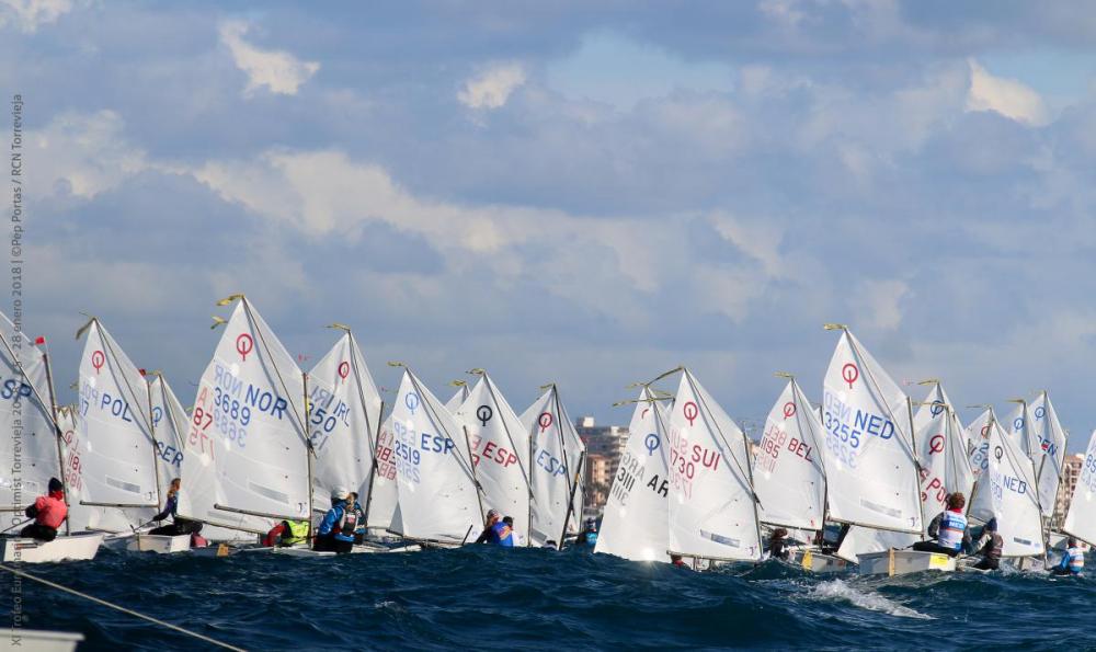El Trofeo Euromarina Optimist cierra la inscripción con 398 inscritos